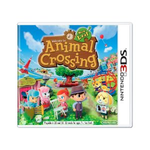 Jogo Animal Crossing: New Leaf - 3DS