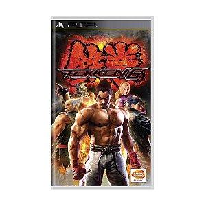 Jogo Tekken 6 - PSP