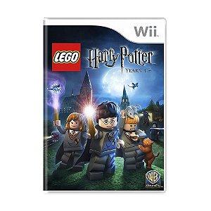 Jogo LEGO Harry Potter: Years 1-4 - Wii