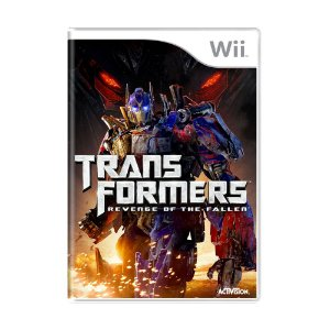 Jogo Transformers: Revenge of The Fallen - Wii