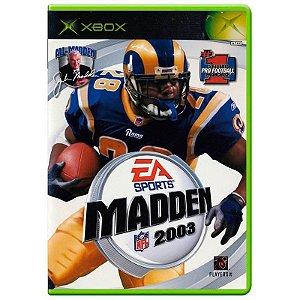 Jogo Madden NFL 2003 - Xbox