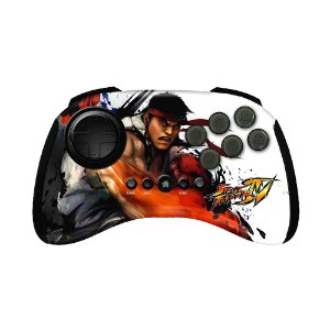 Controle FightPad Mad Catz Street Fighter IV (RYU) - PS3