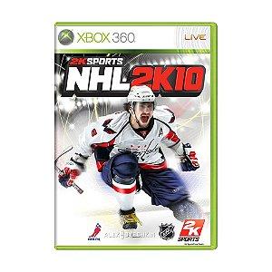 Jogo NHL 2K10 - Xbox 360