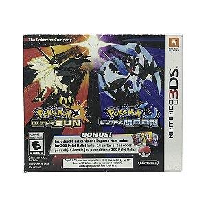 Jogo Pokémon Ultra Sun & Pokémon Ultra Moon (Veteran Trainer's Dual Pack) - 3DS