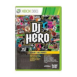 Jogo DJ Hero - Xbox 360