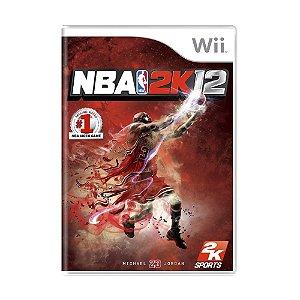 Jogo NBA 2K12 - Wii