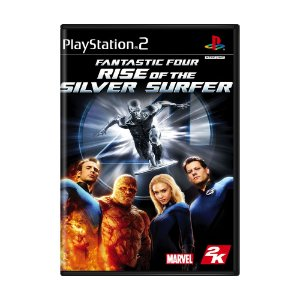 Jogo Fantastic Four: Rise of the Silver Surfer - PS2