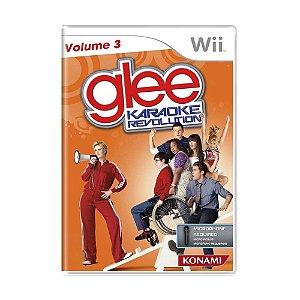 Jogo Karaoke Revolution Glee: Volume 3 - Wii
