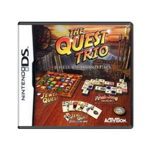 Jogo The Quest Trio: Jewels, Cards and Tiles - DS