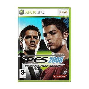 Jogo Pro Evolution Soccer 2008 - Xbox 360 (Europeu)