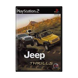 Jogo Jeep Thrills - PS2