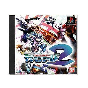Jogo Digimon World 2 - PS1 (Japonês)