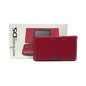 Console Nintendo DS Fat Vermelho - Nintendo (Japonês)