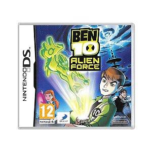 Jogo Ben 10: Alien Force - DS (Europeu)