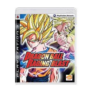Jogo Dragon Ball: Raging Blast - PS3