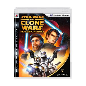 Jogo Star Wars The Clone Wars: Republic Heroes - PS3