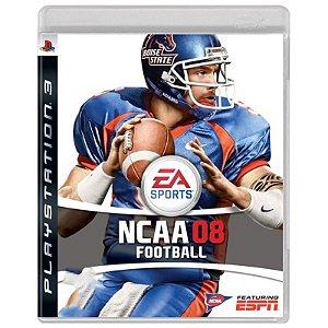 Jogo NCAA 08 Football - PS3