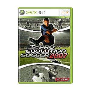 Jogo Pro Evolution Soccer 2007 (Pes 07) - Xbox 360