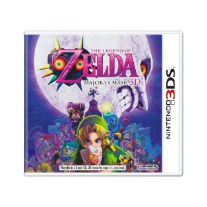 Jogo The Legend of Zelda: Majora's Mask 3D - 3DS
