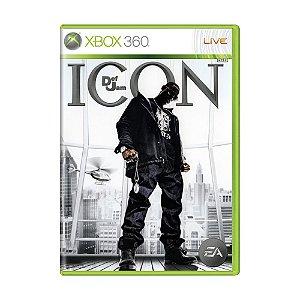 Jogo Def Jam Icon - Xbox 360