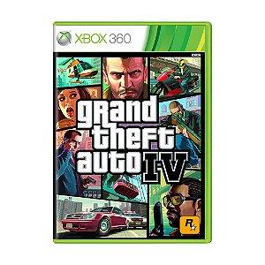 Jogo Grand Theft Auto IV (GTA 4) - Xbox 360