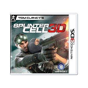 Jogo Splinter Cell 3D - 3DS
