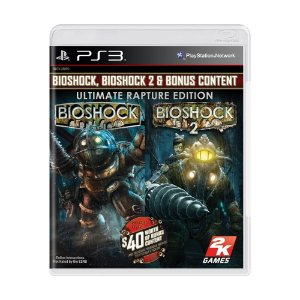 Jogo Bioshock I & Bioshock II: Ultimate Rapture Edition - PS3