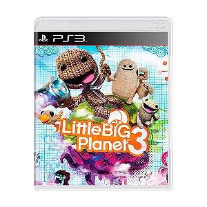 Jogo LittleBigPlanet 3 - PS3
