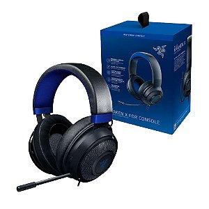 Headset Gamer Razer Kraken X para Console Blue com fio