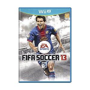 Jogo FIFA Soccer 13 - Wii U