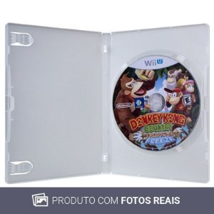 Jogo Donkey Kong Country: Tropical Freeze - Wii U (Sem Capa)