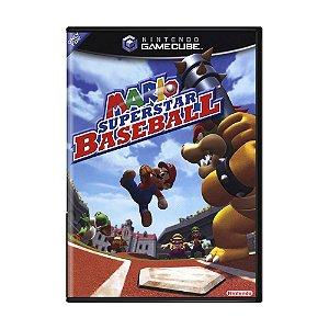Jogo Mario Superstar Baseball - GameCube