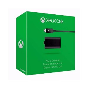 Bateria e Carregador Microsoft Play & Charge - Xbox One