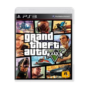 Jogo Grand Theft Auto V (GTA 5) - PS3