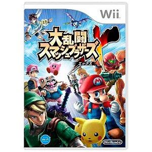 Jogo Super Smash Bros: Brawl [Japonês] - Wii