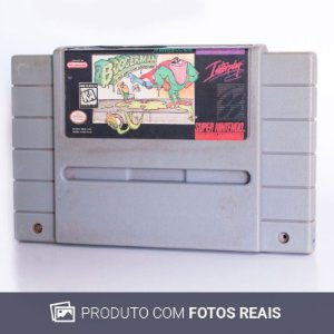 Jogo Boogerman: A Pick and Flick Adventure - SNES