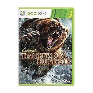 Jogo Cabela's Dangerous Hunts 2013 - Xbox 360