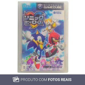 Jogo Sonic Heroes [Japonês] - GC