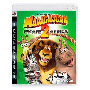 Jogo Madagascar: Escape 2 Africa - PS3