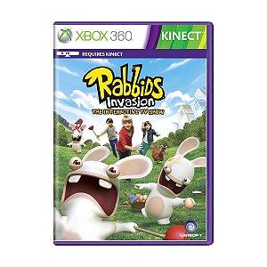 Jogo Rabbids Invasion: The Interactive TV Show - Xbox 360