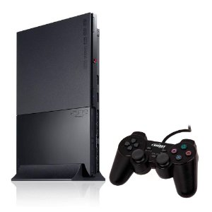 Console PlayStation 2 Super Slim Preto - Sony