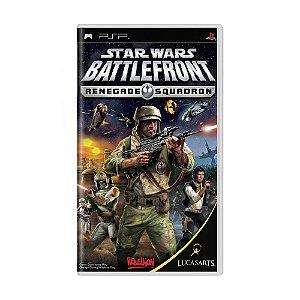 Jogo Star Wars Battlefront: Renegade Squadron - PSP