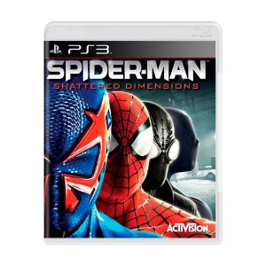 Jogo Spider-Man: Shattered Dimensions - PS3