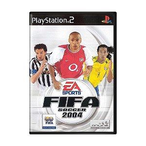 Jogo Fifa Soccer 2004 - PS2