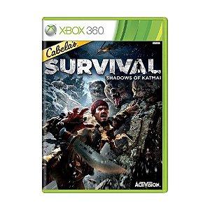 Jogo Cabela's Survival: Shadows of Katmai - Xbox 360