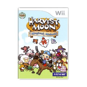 Jogo Harvest Moon: Magical Melody - Wii