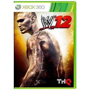 Jogo WWE 12 - Xbox 360