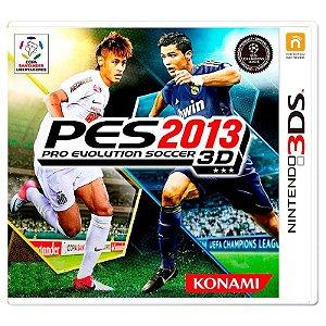 Jogo Pro Evolution Soccer 2013 (PES 13) - 3DS