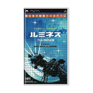 Jogo Lumines: Oto to Hikari no Denshoku Puzzle - PSP