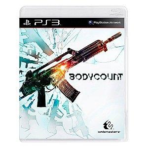 Jogo Bodycount - PS3